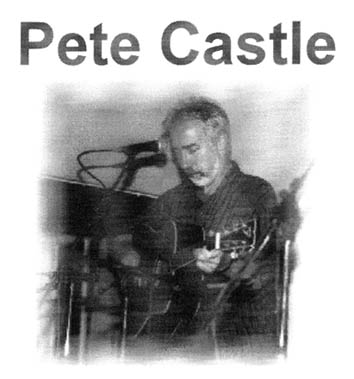 Pete Castle at the Scrag End Folk Club